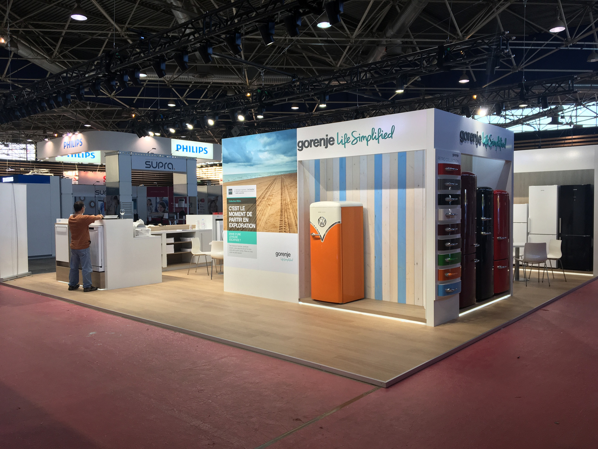 Marketing Exhibition Stand Goal : Large exhibition spaces custom theme